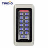 TIVDIO Keypad RFID Access Control System Proximity Card Standalone 2000 Users Door Access Control Waterproof Metal Case F9501D - Dropshipper US