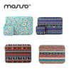 MOSISO Bohemian Canvas 11.6 13.3 15.6inch Sleeve Case For Macbook Air Pro Notebook Bag Cover With Small Pouch Carrying Case Bags - Dropshipper US