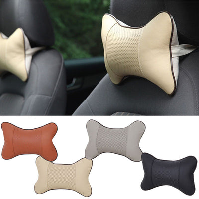 1PC Car Auto Seat Head Neck Rest Cushion Headrest Pillow Pad Bone Shape Nest Rest cars cushion hot sale drop shipping - Dropshipper US