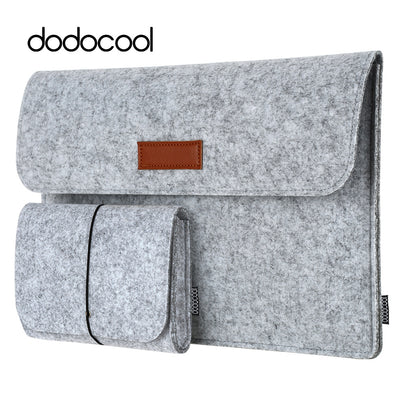 "dodocool 12"" 13"" laptop Bag Case for macbook air 13 macbook pro 13 Case Laptop Sleeve Cover Case 4 Compartments with Mouse Pouch - Dropshipper US"