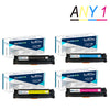 Any 1 LCL 201A 201X CF400A CF400X CF401X CF402X CF403X (1-Pack) Toner Cartridge Compatible for HP Color LaserJet Pro M252dw - Dropshipper US