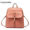 LOVEVOOK brand fashion women backpacks for teenage girls high quality shoulder bag female zipper school bags preppy style 2017 - Dropshipper US