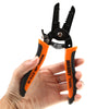 Cable Wire Stripper Cutting mini pliers Cable Stripping Pliers Copper pocket crimping pliers attrezzi Multifunctional Tool - Dropshipper US