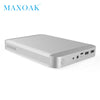 MAXOAK 36000mAh laptop Power Bank USB-C Type-C (5/9/12V)3A port best external batter charger for Macbook Ipad and smartphone - Dropshipper US