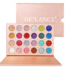 DE'LANCI 24 Colors Cosmetic Makeup Pressed Glitter Eyeshadow Pallete Brand New Diamond Glitter Foiled Eye Shadow Make up Palette - Dropshipper US