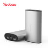 Yoobao YB-6013Pro 10200mAh Power Bank Ultra-thin External Battery Polymer Metal Alloy Portable Charger with Backup Flashlight - Dropshipper US