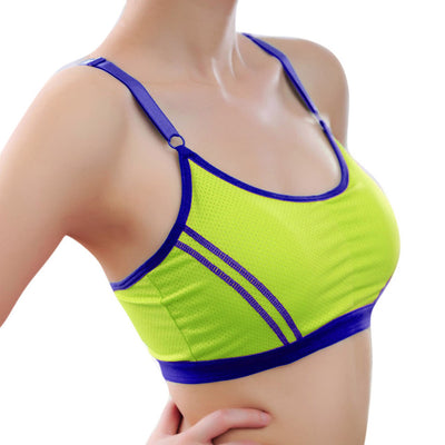 2017 Women Cotton New Arrival Slim Lady Sports Yoga Athletic Solid Wrap Chest Strap Vest Tops Bra