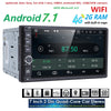 2G RAM Android 7.1 Auto Radio Quad Core 7Inch 2DIN Universal Car NO DVD player GPS Stereo Audio Head unit Support DAB DVR OBD BT - Dropshipper US