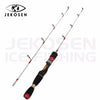 JEKOSEN 2-piece Medium Power KIT(Double Rod Tip Length 14/22 Inches Change) Spinning Ice Fishing Rod 60/80cm (23/31 Inches) - Dropshipper US
