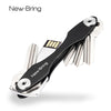 NewBring Key Ring Wallets smart car key holder collector housekeeper Oxide Aluminum DIY EDC Pocket key organizer - Dropshipper US
