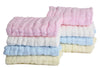 Sinland Muslin Cotton Baby Washcloths Baby Face Towel Extra Absorbent 4 Colors Pack of 8 - Dropshipper US