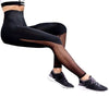 2017 KLV FashionNewHot Sale  Women Fitness Leggings High Waist Mesh Patchwork Leggings Skinny Push Up PantsTop - Dropshipper US