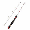JEKOSEN 2-piece Medium Power KIT(Double Rod Tip Length 14/22 Inches Change) Casting Ice Fishing Rod 60/80cm (23/31 Inches) - Dropshipper US