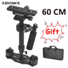 New S60 Steadycam S-60 + Plus 3.5kg 60cm  Aluminum Handheld Stabilizer Steadicam DSLR Video Camera Photography free shipping - Dropshipper US
