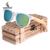 New Luxury Coated Sunglasses for Men and Women Bamboo Wood Holder Polarized Lens Sunglasses with Wood Box Driving Sunglasess - Dropshipper US