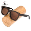 BOBO BIRD Polarized Sun Glasses Retro Men and Women Luxury Handmade Wood Sunglasses for Friends as Gifts AG005b Dropshipping OEM - Dropshipper US