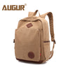 AUGUR New Men Backpack Canvas School Bags 15.6inch Laptop Bags for Teenagers Vintage Mochila Casual Rucksack Travel Daypack