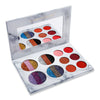 DE'LANCI Eye Shadow Palette Rainbrow Makeup Set Metallic Shimmer Highly Pigmented Glitter and Wet Matte Eyeshadow - Dropshipper US