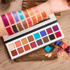DE'LANCI Pro Eyeshadow Palette 11 Shimmer 5 Matte Colors Makeup Eye Shadow- Highly Pigmented Multi-Colour Collection - Dropshipper US