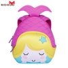 NOHOO 3D Cartoon Mermaid Children School Bags Cute Waterproof School Backpack for Girls Toddler Book Bag Kindergarten Rucksacks - Dropshipper US
