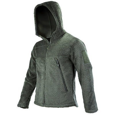 FREE SOLDIER outdoor tactical sweatshirt with fleece out,heat-preserving outerwear,camping,hiking jacket