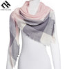 Everfelan Brand New Women'S Scarf High Quality Classic Lattice Design Women Triangles Scarf  Long Scarves Shawl Autumn Winter - Dropshipper US