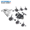 ECOODA Black Hawk II 1500-5000 Metal Spool Spinning Fishing Reels Saltwater/Freshwater Boat Rock Bass Lure Jigging Fishing Reel - Dropshipper US