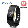 Diggro S2 Smartband Heart Rate Monitor IP67 Sport Fitness Bracelet Tracker Smart Wristband Bluetooth For Android IOS PK miband 2 - Dropshipper US