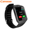Cawono Bluetooth Smart Watch DZ09 Relojes Smartwatch Relogios TF SIM Camera for IOS iPhone Samsung Huawei Xiaomi Android Phone - Dropshipper US