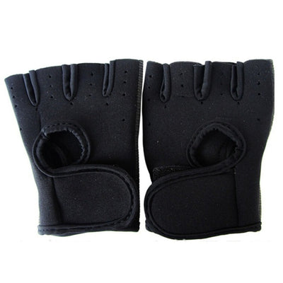 Sports Glove Fitness Exercise Body Building Workout Weight Lifting Gloves Half Finger - Dropshipper US