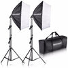 Neewer 700W Professional Photography 24x24 inches/60x60 cm Softbox with E27 Socket Light Lighting Kit - Dropshipper US