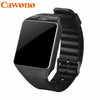 Cawono DZ09 Smart Watch Bluetooth Smartwatch Relogio TF SIM Card Camera for iPhone Samsung HTC LG HUAWEI Android Phone VS Q18 Y1 - Dropshipper US