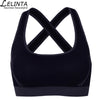 LELINTA Woman's Back Cross Compression Sports Bra Breathable Wirefree Sport Bra With Pad Sport Training Women's Clothing