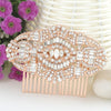 Bella Fashion The Great Gatsby Bridal Hair Comb Austrian Crystal Wedding Hair Piece Accessories For Women Party Jewelry Gift - Dropshipper US