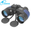 AOMEKIE 7X50 Binoculars Rangefinder Compass Hunting Boating Military Marine Telescope HD BAK4 Prism Folating Nitrogen Waterproof - Dropshipper US