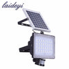 10W 20W 30W 50W solar flood light PIR motion sensor 12V 24V solar panel flood lamps for outdoor garden street - Dropshipper US