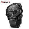 LEMFO LEM6 Smart Watch Smartwatch 1GB + 16GB Watch Phone MTK6580 Smartwatch Waterproof GPS Heart Rate Monitor Bluetooth 3G - Dropshipper US