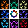 Logo Power Button Wrap Stickers LED Color Change Skin Cover for Xbox One Console - Dropshipper US