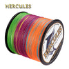 Hercules 100M-2000M Fishing Line Multicolor PE 4 Strands Carp Braided Fishing Line Saltwater Pesca Super Strong Sea Vissen Cord - Dropshipper US