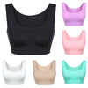 2018 Popular Women Yoga Fitness Stretch Workout Tank Top Racerback Padded Sports Bra Solid Convertible Straps Yoga shirt