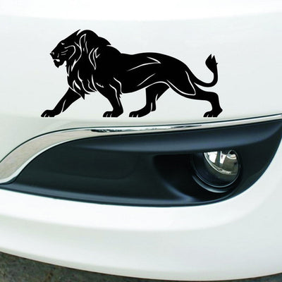 CARPRIE 1PC 20 x 10cm Waterproof PET Removable Lion Car Body Decal Car Stickers Motorcycle Decorations - Dropshipper US