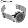Cawono EX18 5ATM Waterproof Smart Watch Pedometer Tracker Call reminder Bluetooth 4.0 Wristwatch SmartWatch for IOS Android - Dropshipper US