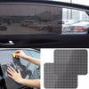 2Pcs Universal Best Selling Car Rear Window Side Sun Shade Car-Styling Cover Block Static Cling Visor Shield Screen - Dropshipper US