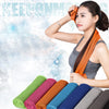 2017 New Fashion Fitness Dry Cooling Sports Towel For Gym Best Workout face Iced Sweat Towels Quick-Dry High Quality Hot Sale ## - Dropshipper US