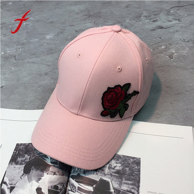 2017 women baseball cap men snapback caps brands print Flowers Embroidery girl fashion sport black snapback hats hot sale