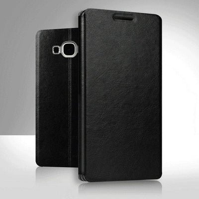 New PU Leather Wallet Flip Case With Card Slot Pocket Pouch Phone Holder Case Back Stand Cover For Asus Zenfone V Live V500KL - Dropshipper US