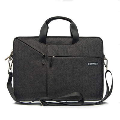 Gearmax Laptop Messenger Bag 11 12 13.3 14 15.4 15.6 Waterproof Handbag Notebook Shoulder Bag Briefcase For Macbook Pro Air 13