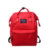 Woman Backpack Solid Black Red Womens Travel Harajuku Canvas Backpack Teenage Fashion High Quality  Schoolbag - Dropshipper US