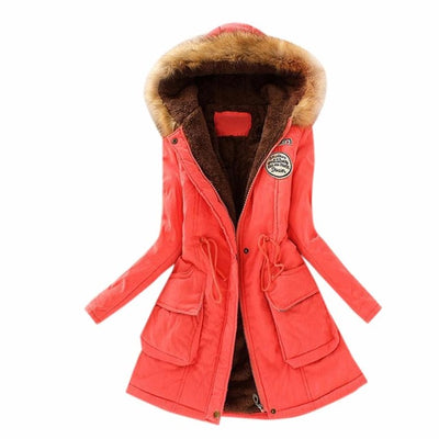 Woman Coat Of Winter Winter Parka Women Jackets Large Size Plus Faux Fur Coats And Jackets 2017 Chaquetas Mujer - Dropshipper US