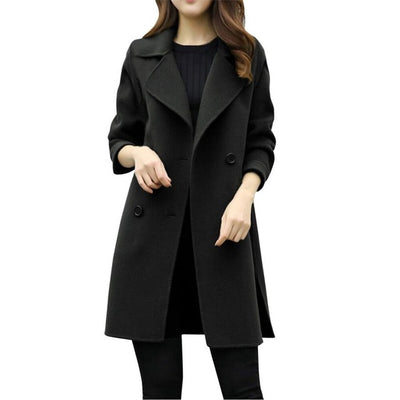FEITONG ladies woman winter coats and jackets Womens Autumn Winter Jacket Casual Outwear Parka Cardigan Slim Coat Overcoat